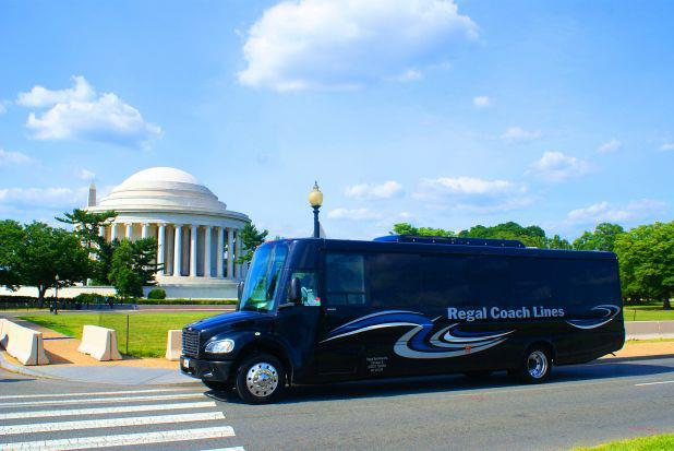 Regal Coach Lines Motor Coach Transportation In Chicago