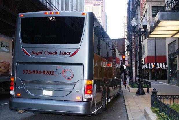 154 Wabash Ave Chicago 3 Regal Coach Lines Charter